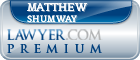 Matthew F Shumway  Lawyer Badge
