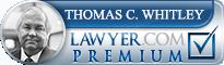 Thomas C. Whitley  Lawyer Badge