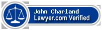 John E Charland  Lawyer Badge