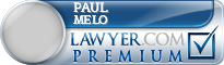 Paul W Melo  Lawyer Badge