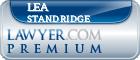 Lea N Standridge  Lawyer Badge