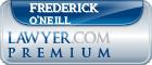Frederick Alexander O'Neill  Lawyer Badge