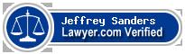 Jeffrey Michae Sanders  Lawyer Badge
