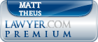 Matt Theus  Lawyer Badge