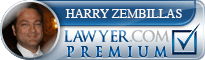 Harry Zembillas  Lawyer Badge