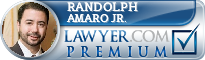 Randolph James Amaro Jr.  Lawyer Badge