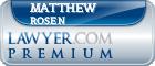 Matthew J. Rosen  Lawyer Badge