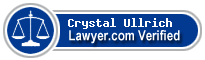 Crystal Marie Ullrich  Lawyer Badge
