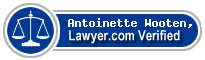Antoinette M. Wooten, Esq.  Lawyer Badge