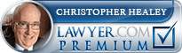 Christopher D. Healey  Lawyer Badge