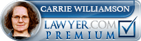 Carrie B. Williamson  Lawyer Badge