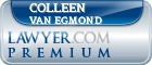 Colleen Van Egmond  Lawyer Badge