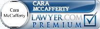 Cara McCafferty  Lawyer Badge