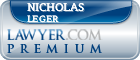 Nicholas Leger  Lawyer Badge