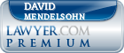 David Mendelsohn  Lawyer Badge