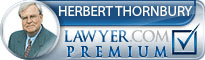 Herbert A. Thornbury  Lawyer Badge