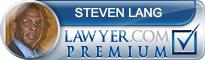 Steven A. Lang  Lawyer Badge