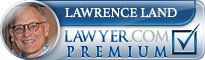Lawrence K Land  Lawyer Badge