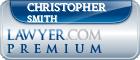 Christopher James Smith  Lawyer Badge