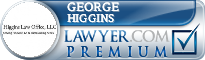 George Higgins  Lawyer Badge