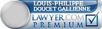 Louis-Philippe Doucet Gallienne  Lawyer Badge