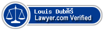 Louis Dubé  Lawyer Badge
