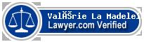 Valérie La Madeleine  Lawyer Badge