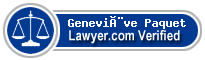 Geneviève Paquet  Lawyer Badge