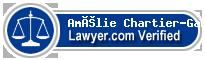 Amélie Chartier-Gabelier  Lawyer Badge