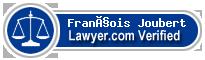 François Joubert  Lawyer Badge