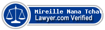 Mireille Lavie Nana Tchatchou  Lawyer Badge