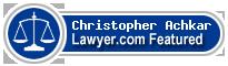 Christopher Achkar  Lawyer Badge