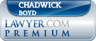 Chadwick Robert Boyd  Lawyer Badge