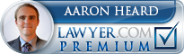 Aaron James Heard  Lawyer Badge