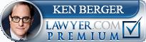 Ken J. Berger  Lawyer Badge