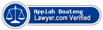 Appiah O. Boateng  Lawyer Badge