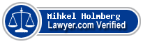 Mihkel Holmberg  Lawyer Badge