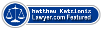 Matthew Katsionis  Lawyer Badge