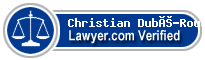 Christian Dubé-Rousseau  Lawyer Badge