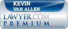 Kevin Van Allen  Lawyer Badge