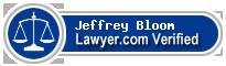 Jeffrey M Bloom  Lawyer Badge