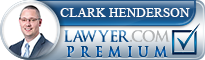 Clark H. Henderson  Lawyer Badge
