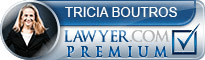 Tricia Steele  Lawyer Badge