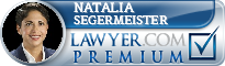 Natalia De Lourdes Segermeister  Lawyer Badge