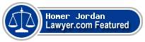 Homer Perry Jordan  Lawyer Badge