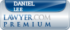 Daniel Edward Lee  Lawyer Badge