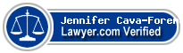 Jennifer Lee Cava-Foreman  Lawyer Badge