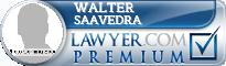Walter P. Saavedra  Lawyer Badge