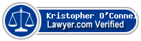 Kristopher John O'Connell  Lawyer Badge