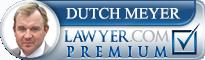 Dutch Meyer  Lawyer Badge